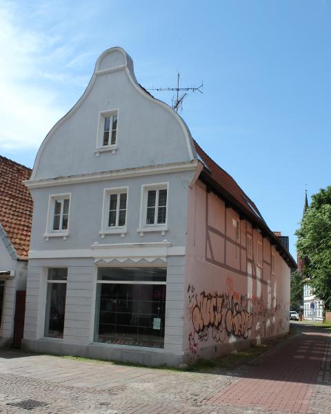Das Haus Jahnstraße Ecke Hakenstraße jetzt