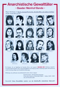 Fahndungsplakat 1972